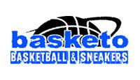 basketo logo kot rabatowy