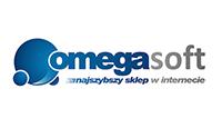 omegasoft logo kot rabatowy