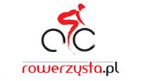 rowerzysta.pl logo kot rabatowy