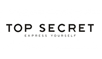 top secret logo kot rabatowy