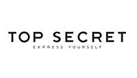 top secret logo kot rabatowy