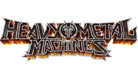 heavy metal machines logo kot rabatowy