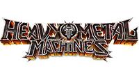heavy metal machines logo kot rabatowy