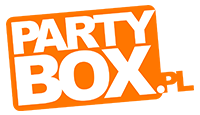 partybox logo kot rabatowy