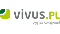 vivus logo kot rabatowy