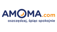 amoma logo kot rabatowy
