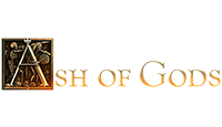 ash of gods logo kot rabatowy