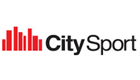city sport logo kot rabatowy
