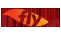 fly logo kot rabatowy