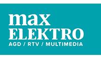 max elektro logo kot rabatowy