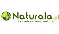 naturala logo kot rabatowy