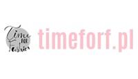 time for fashion logo kot rabatowy