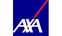 axa logo kot rabatowy