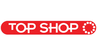 top shop logo kot rabatowy