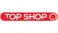 top shop logo kot rabatowy