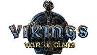 vikings war of clans logo kot rabatowy