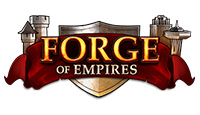 forge of empires logo kot rabatowy
