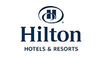 hilton logo kot rabatowy