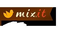 mixit logo kot rabatowy