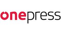 onepress logo kot rabatowy