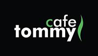 tommy cafe logo kot rabatowy
