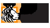 Lew Pożyczka logo kot rabatowy