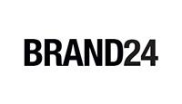 Brand24 logo kot rabatowy