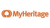 MyHeritage logo kot rabatowy