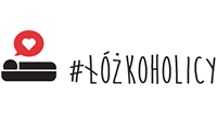 Łóżkoholicy logo KotRabatowy.pl