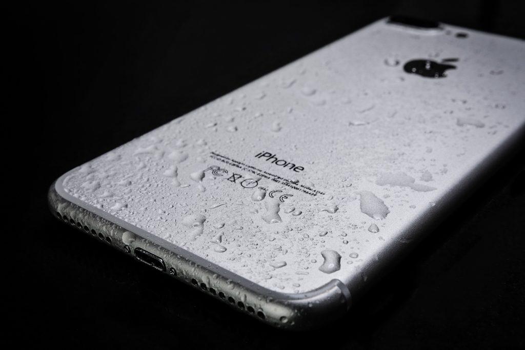 iphone wodoszczelność