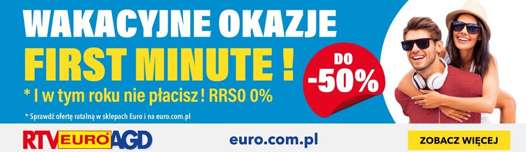 Wakacyjne okazje First Minute w RTV EURO AGD na KotRabatowy.pl