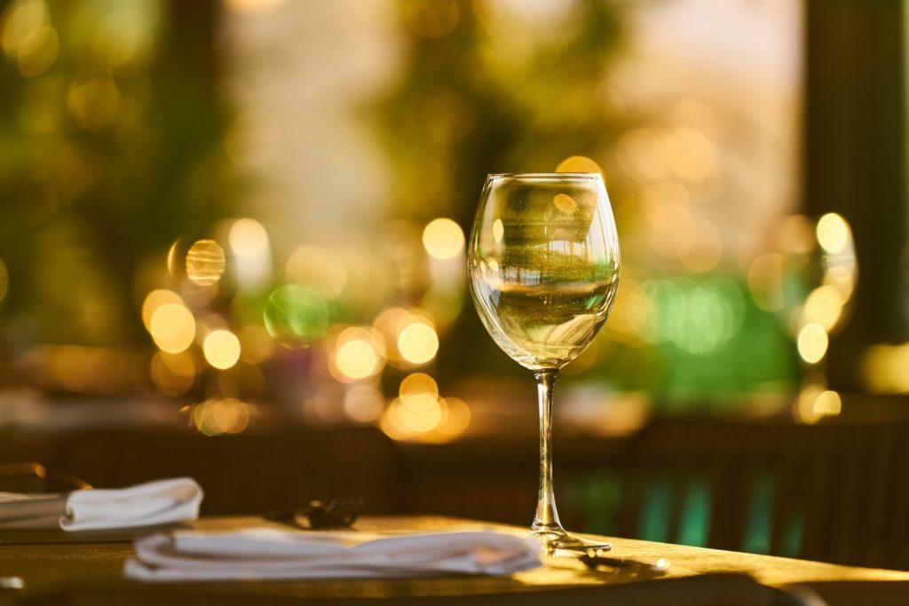 kieliszka do wina